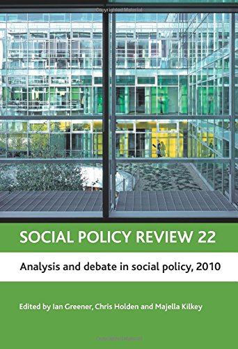 Download Social policy review 22 PDF