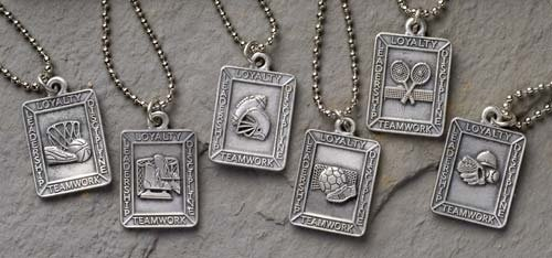 Roman Club Pack of 24 Christian Sports Medal Pendants - 26