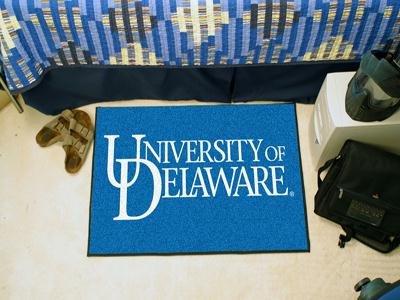 "FANMATS Delaware Sports Team Logo Starter Rug 19""x30"""