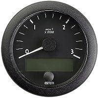 VDO Ocean Link J1939 3,000 RPM 3-3/8 (85mm) - 12/24V Master Tachometer
