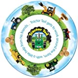Tractor Ted Melamine Plate