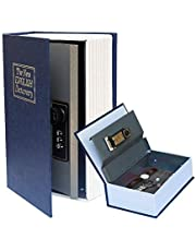 Secret Book Safe with Combination Lock,Dictionary Diversion Hidden Book Portable Safe Box, for Storing Money,Jewelry and Passport