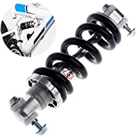 LIGHTER HOUSE Shock Absorber 1200LBS/IN Rear Suspension MTB Shocks/ Bicycle Bumper (Silver and Black, LH-1200 lbs SHOCKER REAR)
