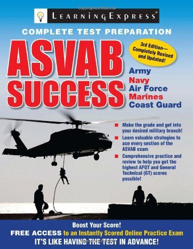 ASVAB Success by Learning Express Editors (2011-06-16)
