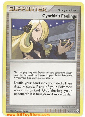 Pokemon Card 131/146 - Cynthia's Feelings