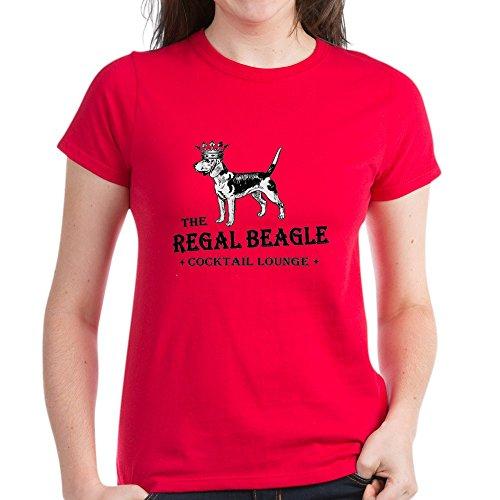 ae63520ef56 Amazon.com  CafePress - The Regal Beagle - Womens Cotton T-Shirt  Clothing