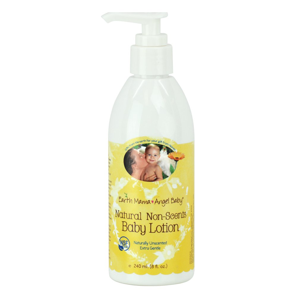 Earth Mama Angel Baby Natural Non-Scents Lotion, 8 Fluid Ounce by Earth Mama Angel Baby