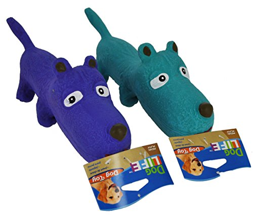 (Penn Plax Dog Toy On Rope Rubber 2Models)