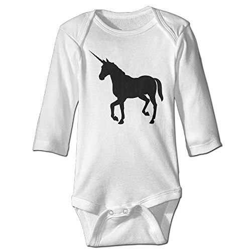 Price comparison product image Magical Unicorn Long Sleeve Baby Onesies Clothes