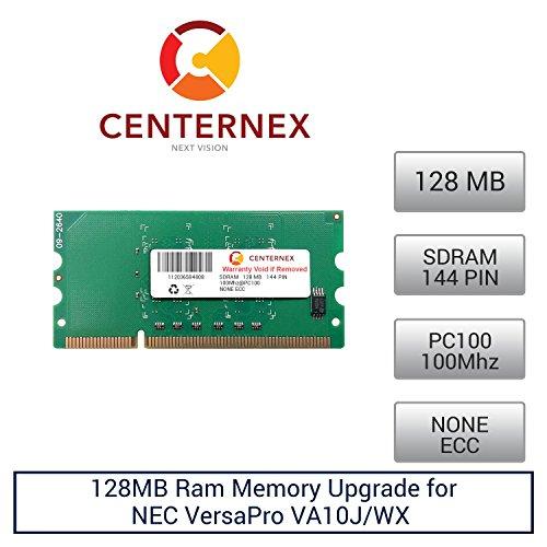 128mb Pc100 144 Pin Laptop - 128MB RAM Memory for NEC VersaPro VA10J/WX (PC100) (PKUGM025 ) Laptop Memory Upgrade by US Seller