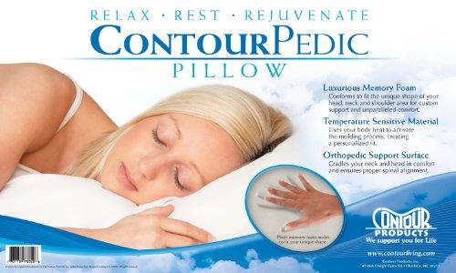 Contour Products Cervical Pillow, 1 ea
