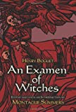 An Examen of Witches (Dover Occult)