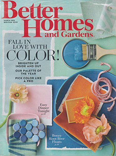 Seller profile pagingplaces Better homes and gardens march