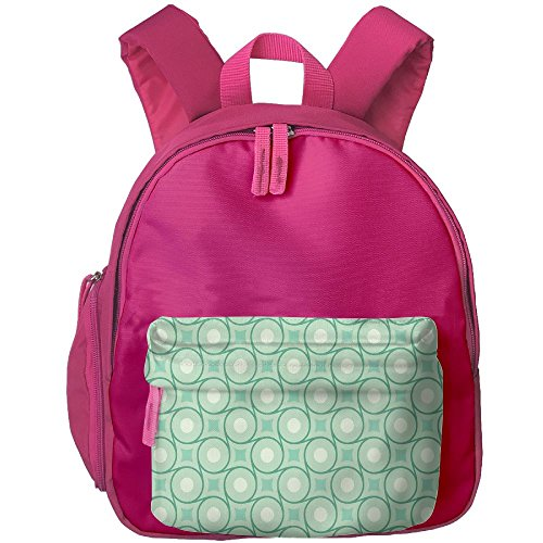 Dianqusha Circles And Dots Linked With Lines Wavy Squares Geometric Retro Style The Boy's Bag Is A School Bag For Pupils.