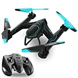 ufo toy remote control - TEMI AG-01 RC Drone Quadcopter 2.4Ghz 6 Axis Gyro 4 Channel Remote Control Helicopter Kits Easy to Fly for Beginners Kids Adults, FPV WiFi HD Camera[Optional], Good Choice for Drone Training