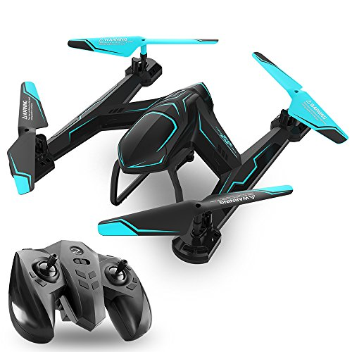 TEMI AG-01 RC Drone Helicopter FPV WIFI HD Camera 2.4Ghz 6 Axis Gyro 4 Channel Remote Control Quadcopter Kits Easy to Fly for Beginners Adults Kids