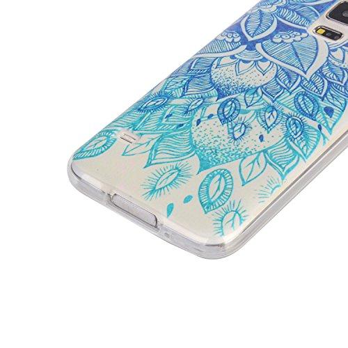 Para Samsung Galaxy S5 (5,1 pulgadas) Cáscara ZeWoo® Carcasa y Funda de Silicona - YG012 / FOR CATS YG009