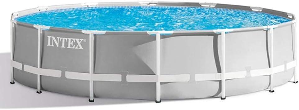 Intex piscina tubular redonda 3,66 x 1,22 m.: Amazon.es: Hogar
