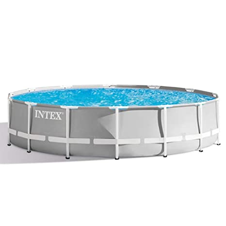 Intex piscina tubular redonda 3,66 ...