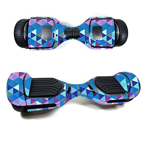 Skin for Swagtron T580 Hoverboard - Purple Kaleidoscope| MightySkins Protective, Durable, and Unique Vinyl Decal wrap cover | Easy To Apply, Remove, and Change Styles | Made in the - Kaleidoscope Unique