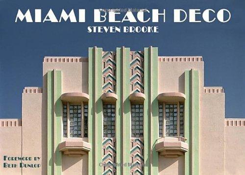 Miami Beach Deco by Steven Brooke - Mall Beach Shopping Miami