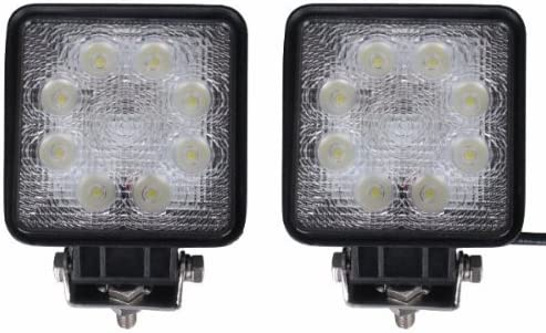 Lampara LED - SODIAL(R)2 X Foco Trabajo bombillas LED DC 10 ...
