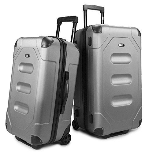 us-traveler-long-haul-2-piece-cargo-trunk-luggage-set-steel-gray