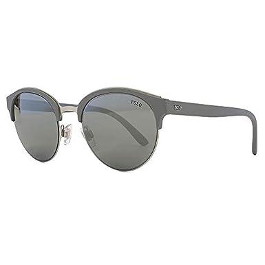 Amazon.com: Polo Ralph Lauren ph4127 56426 G Plata Mate ...