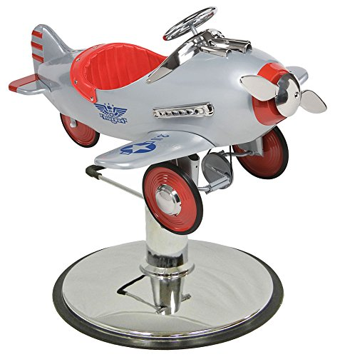 ITA-Silver Pursuit Silver Children's Hair Styling Airplane (Airplane Pursuit)