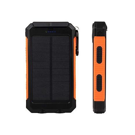 Cargador Solar, Cargador Solar Doble USB Portátil A Prueba ...
