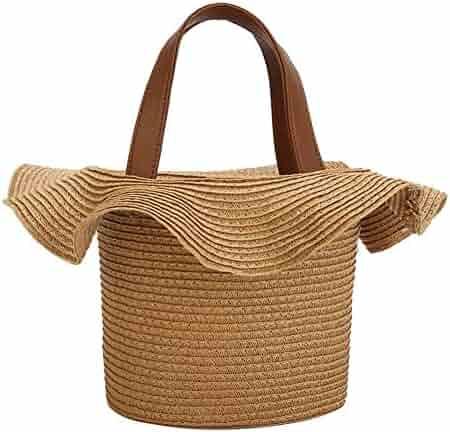 01dbfafa530b Shopping Straw - Blacks - Top-Handle Bags - Handbags & Wallets ...