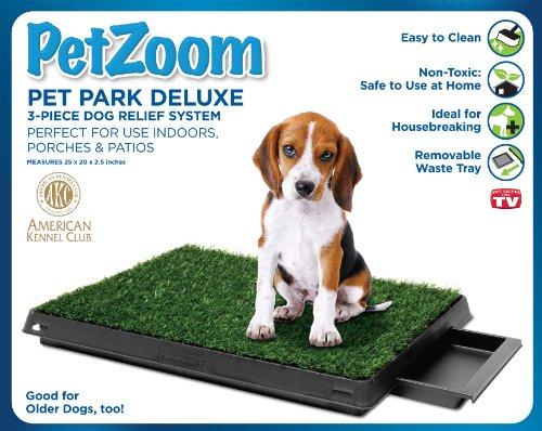PetZoom Pet Park Deluxe 3-Piece Dog Relief System