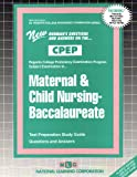 Maternal and Child Nursing, Baccalaureate, Rudman, Jack, 0837354234