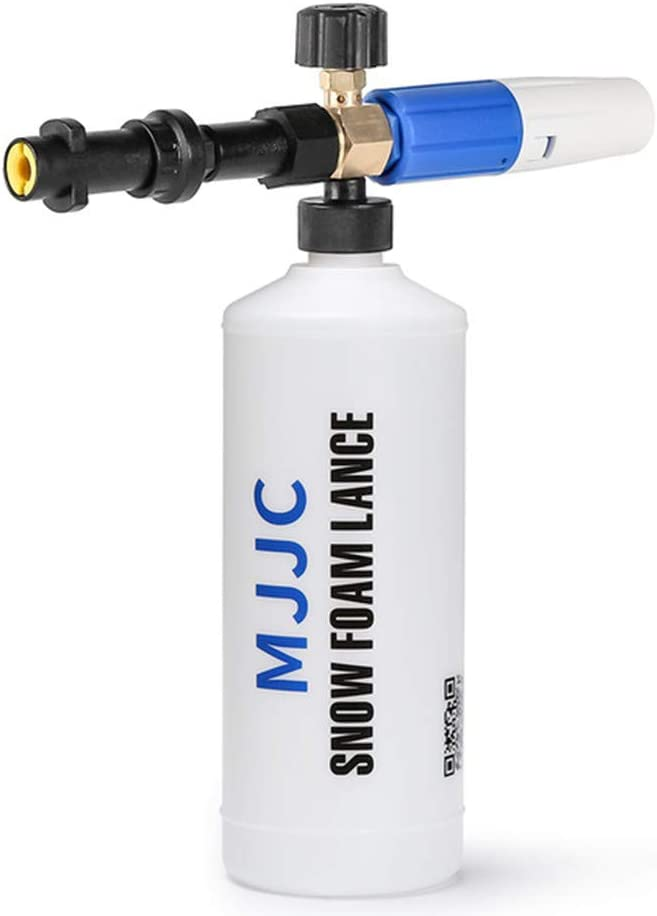 Pistola de espuma MJJC para Karcher K2 - K7 Snow Foam Lance para todos Karcher K Series Pressure Washer Karcher (incoloro)
