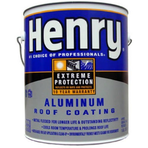 HENRY HE558107 Gal Aluminum Roof Coating ()