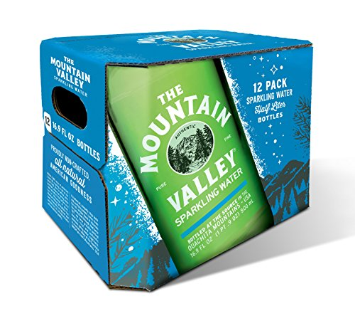 500 ML Glass Sparkling Water by Mountain Valley Spring Water