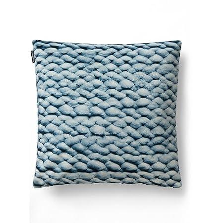 Snurk Twirre Ice Blue Cushion Cover 50 X 50 Cm Photo