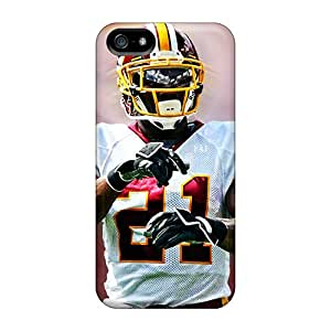 Anti-Scratch Hard Cell-phone Cases For Iphone 5/5s With Custom Attractive Washington Redskins Pictures SherriFakhry