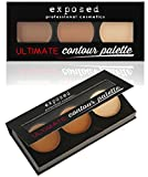 Exposed-Ultimate-CONTOUR-PALETTE-Kit-Bronzing-Contouring-Highlighting-Makeup-by-Exposed