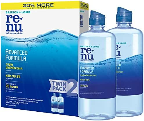 Contact Lens Solution: Renu Advanced Formula