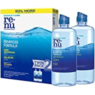 ReNu Advanced Formula Multi-Purpose Eye Contact Lens Solution, 2 x 12 fl oz (355 ml)