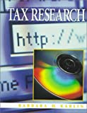 Tax Research, Barbara H. Karlin, 020135473X
