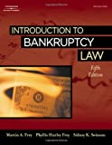 Introduction to Bankruptcy Law 9781418040963