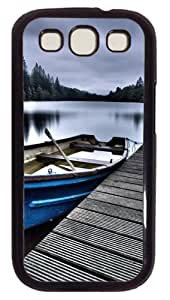Beautiful Place Custom Case Cover for Samsung Galaxy S3 / SIII / I9300 - Polycarbonate - Black