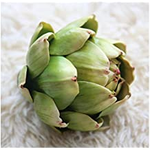 Inverlee Artificial Artichoke Flower Fake Silk Wedding Party Bouquet Home DIY Office Party Wedding Decor (Green)
