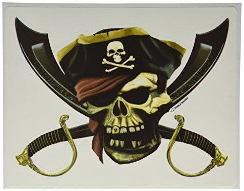 Lucks Edible Image, Pirate Skull -