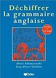 Image de Déchiffrer la grammaire anglaise