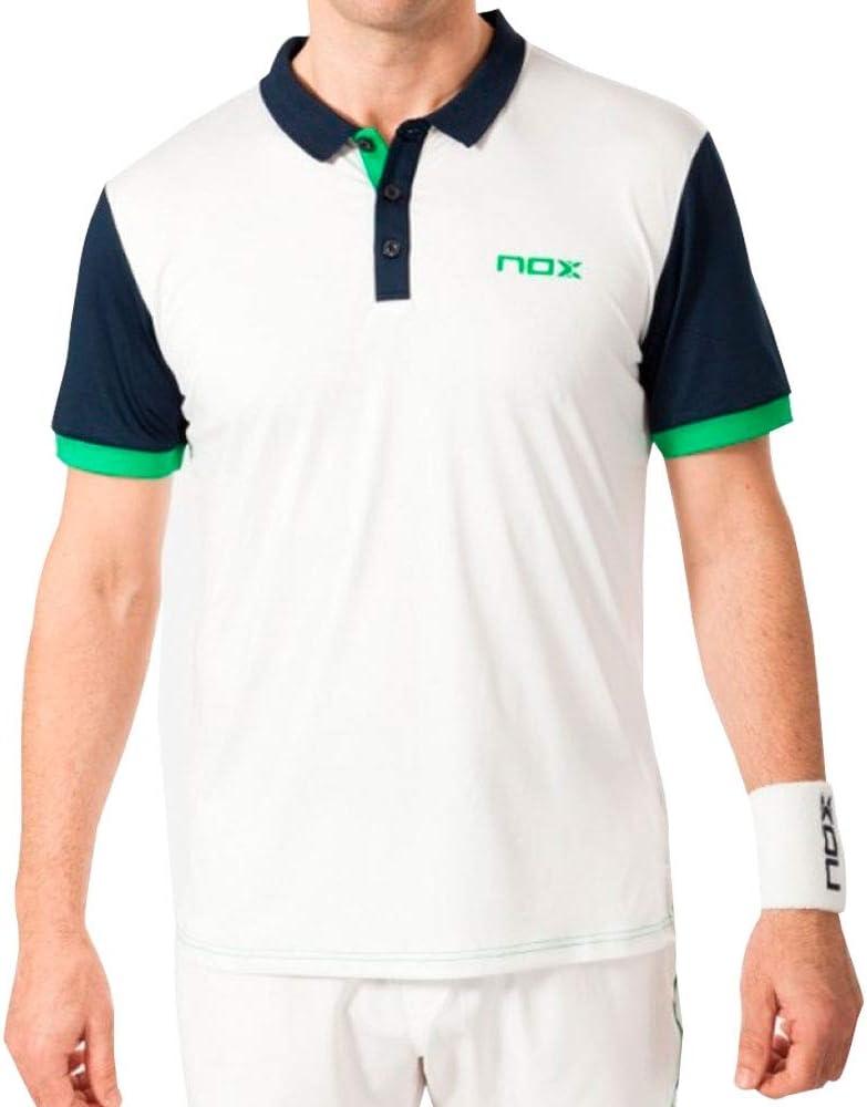 NOX Polo Pro Blanco Negro: Amazon.es: Deportes y aire libre