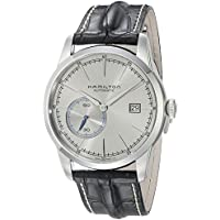 Hamilton Timeless Classic Stainless Steel Swiss-Automatic Men's Watch with Leather Calfskin Strap