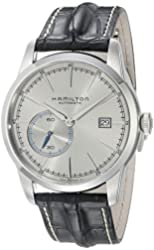 Hamilton Men's 'Timeless Classic' Swiss Automatic Stainless Steel and Leather Casual Watch, Color:Black (Model: H40515781)